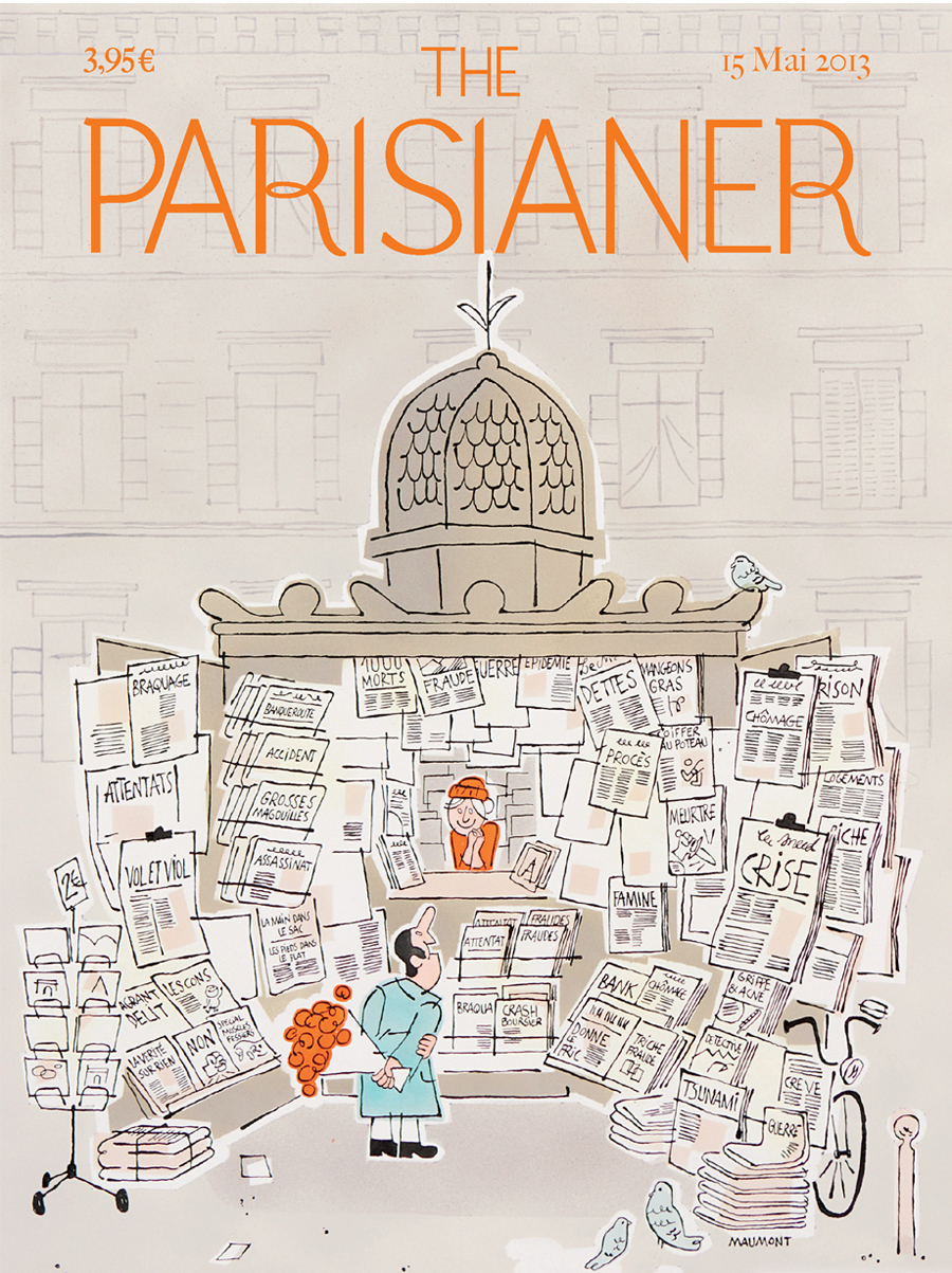 The Parisianer | Illustration by Francois-Maumont