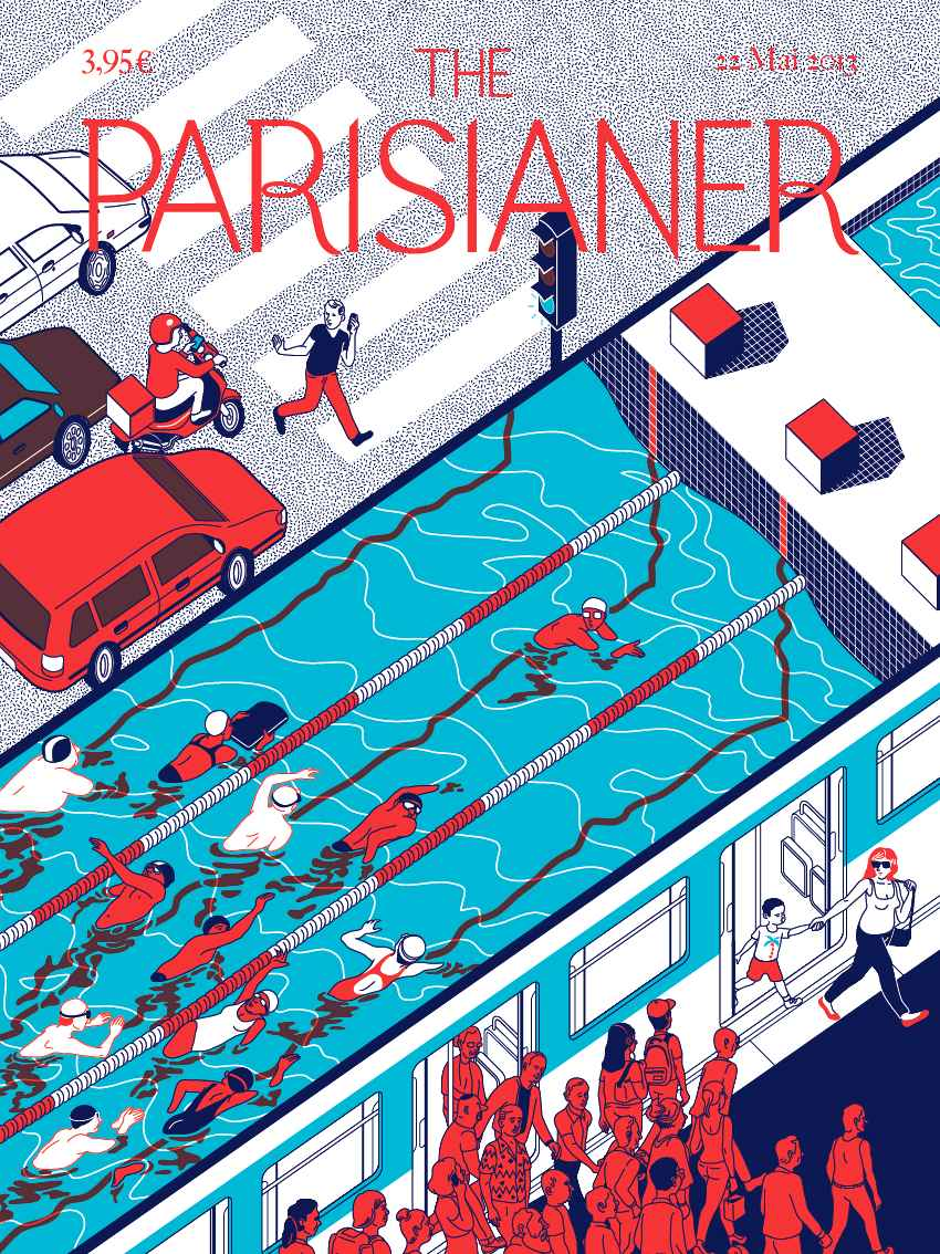 The Parisianer | Illustration by Lou Rihn