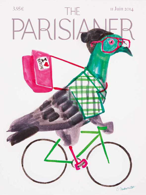 The Parisianer | Illustration by Catherine Meurisse