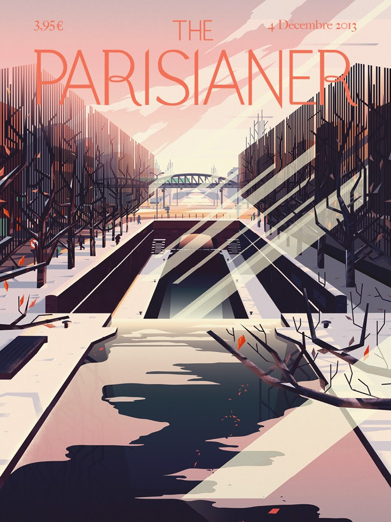 The Parisianer | Illustration by cruschiform