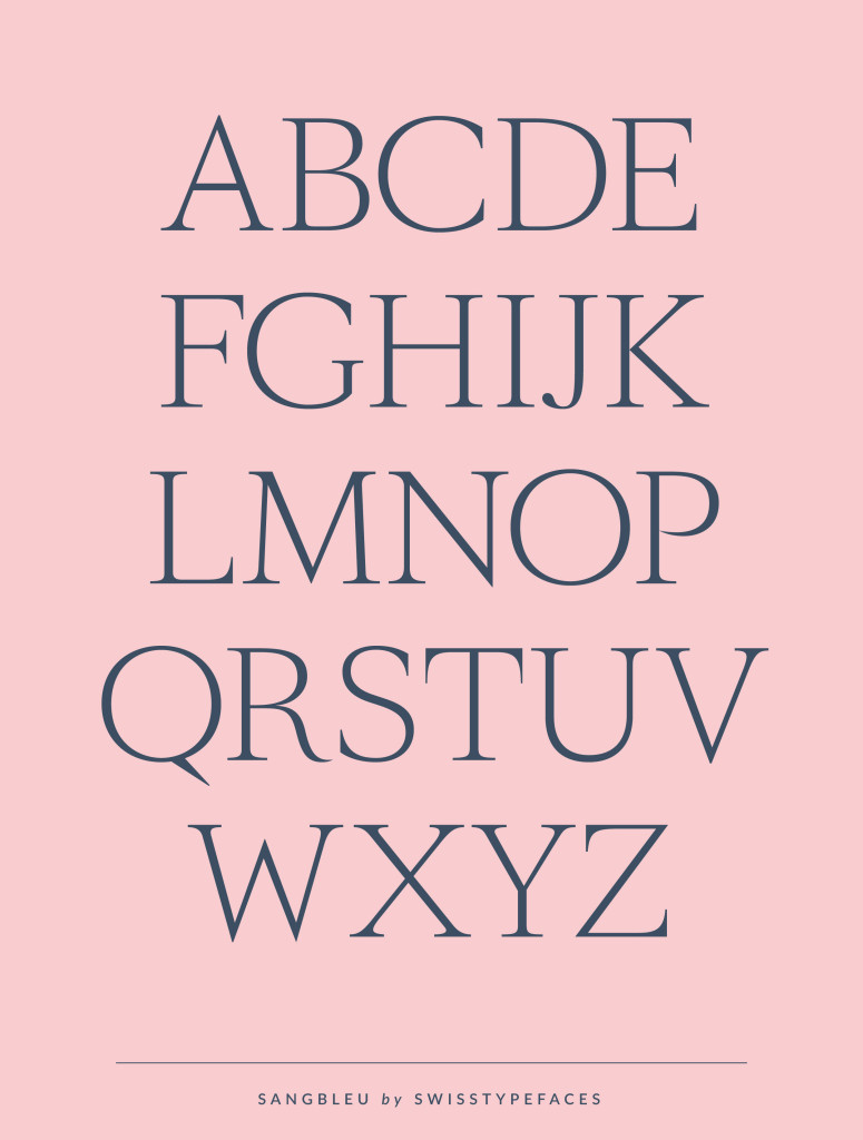 SangBleu | Typefaces, Fonts