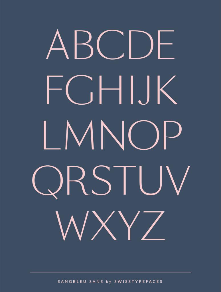 SangBleu Sans | Typefaces, Fonts