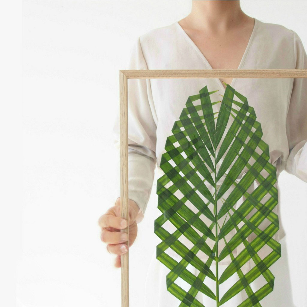 DIY Leaf Art by monsterscircus | plants at home