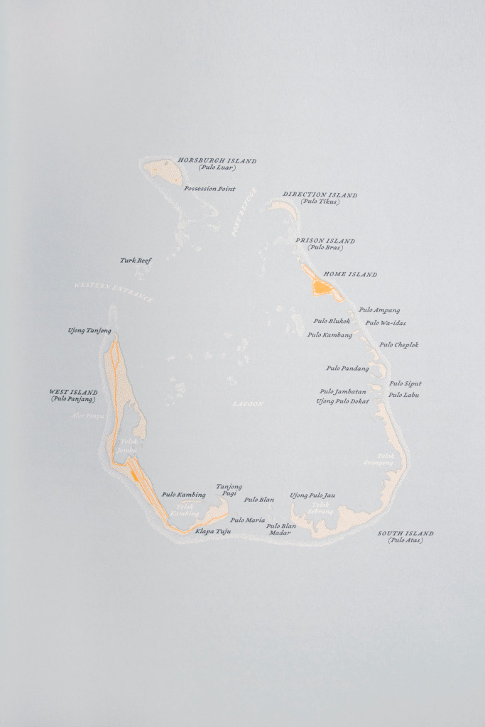Atlas of Remote Islands | Cartographic island drawing by Judith Schalansky