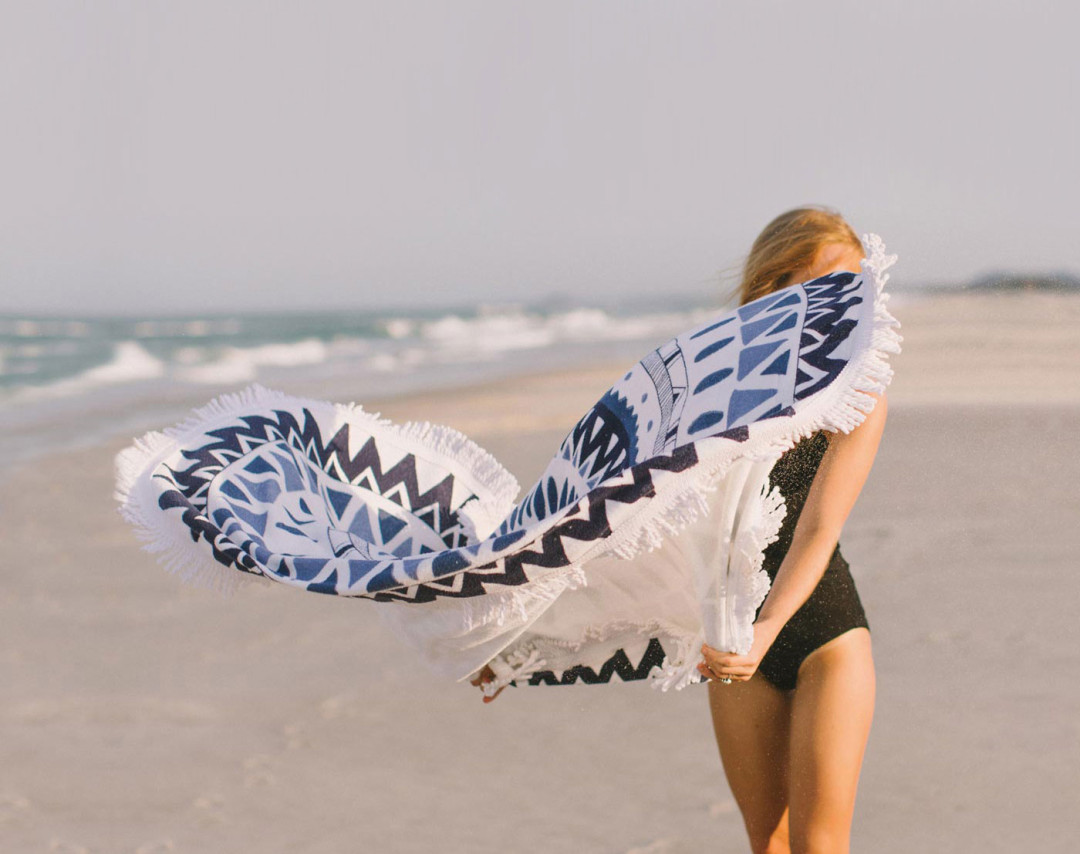 Summer Essentials | The Beach People | round towel