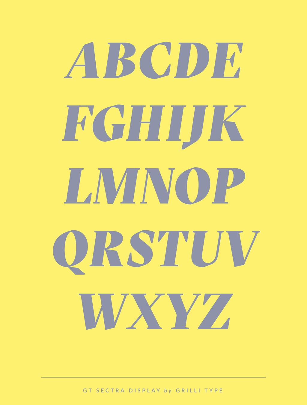 GT Sectra by Grilli Type | Sarah Le Donne Blog – Typefaces