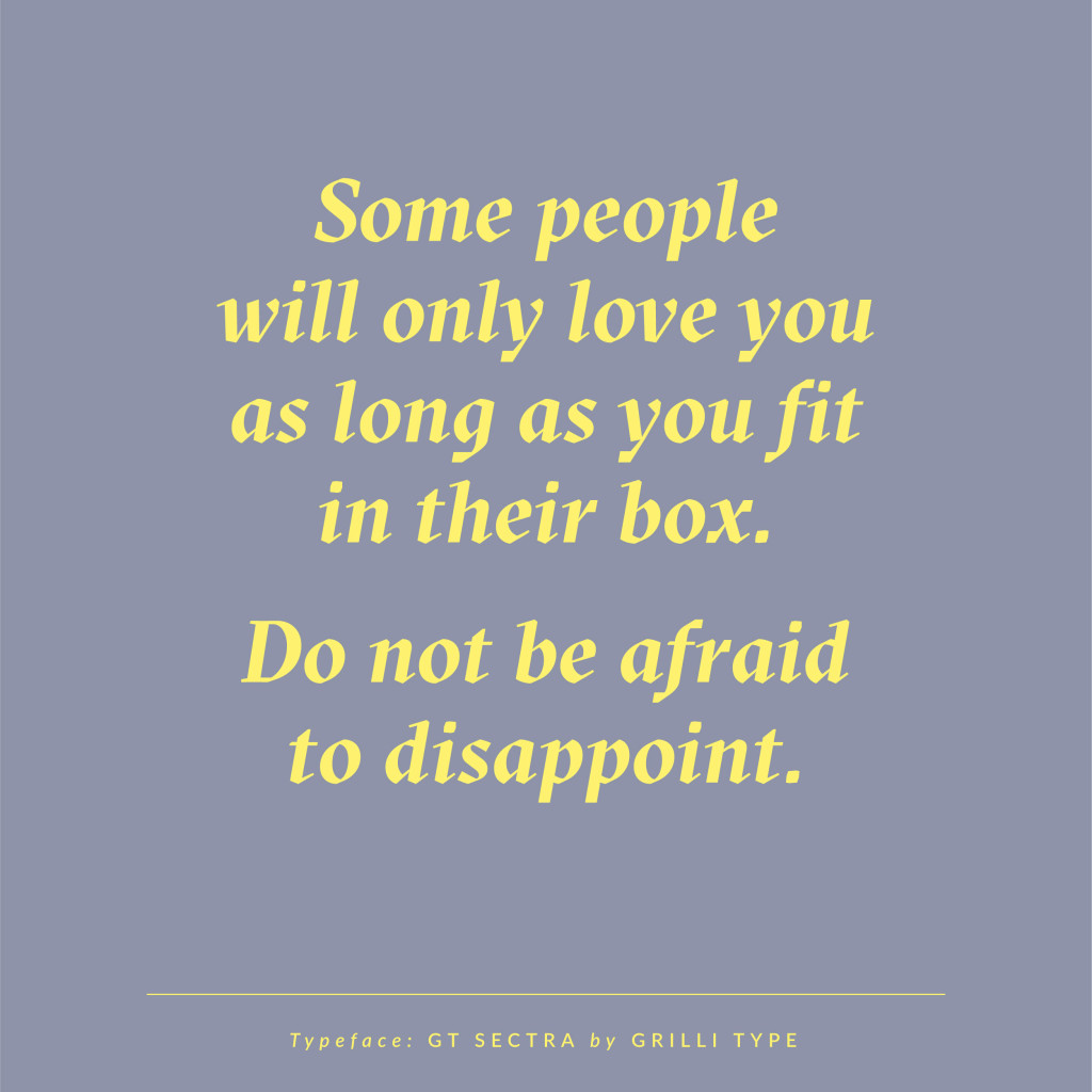 Do not be afraid to disappoint | Sarah Le Donne Blog | Quotes