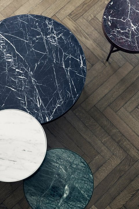 Ferm Living marble tables   AW 2015 Collection