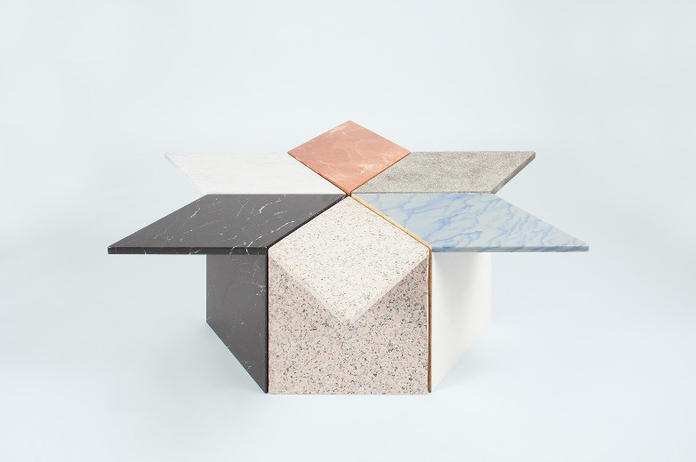 Juanola Side Tables | Marble and Granite