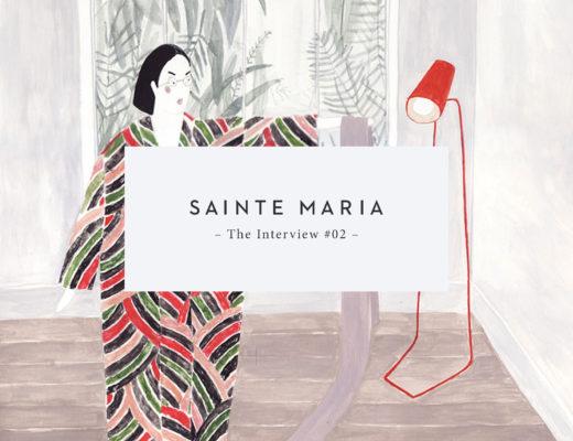 The Interview with Illustrator Sainte Maria | Sarah Le Donne Blog