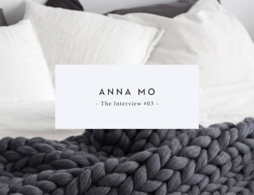 The Interview with Anna Mo by Ohhio | Sarah Le Donne Blog