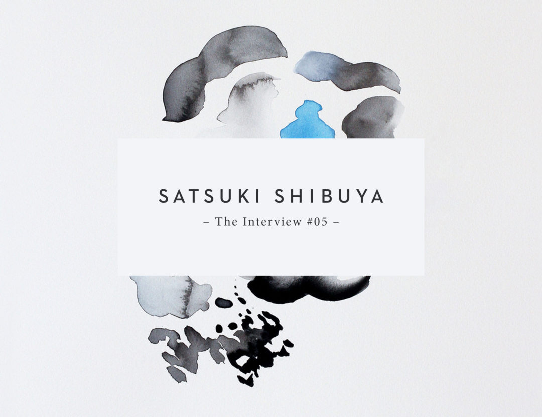 The Interview with Satsuki Shibuya | Sarah Le Donne Blog
