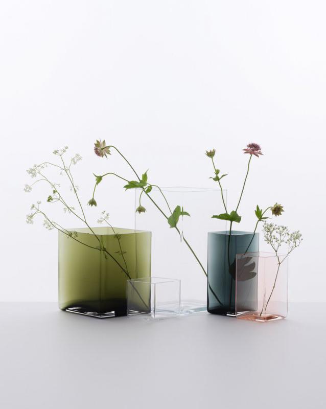 Ronan & Erwan Bouroullec for Iittala | Ruutu Glas Vase
