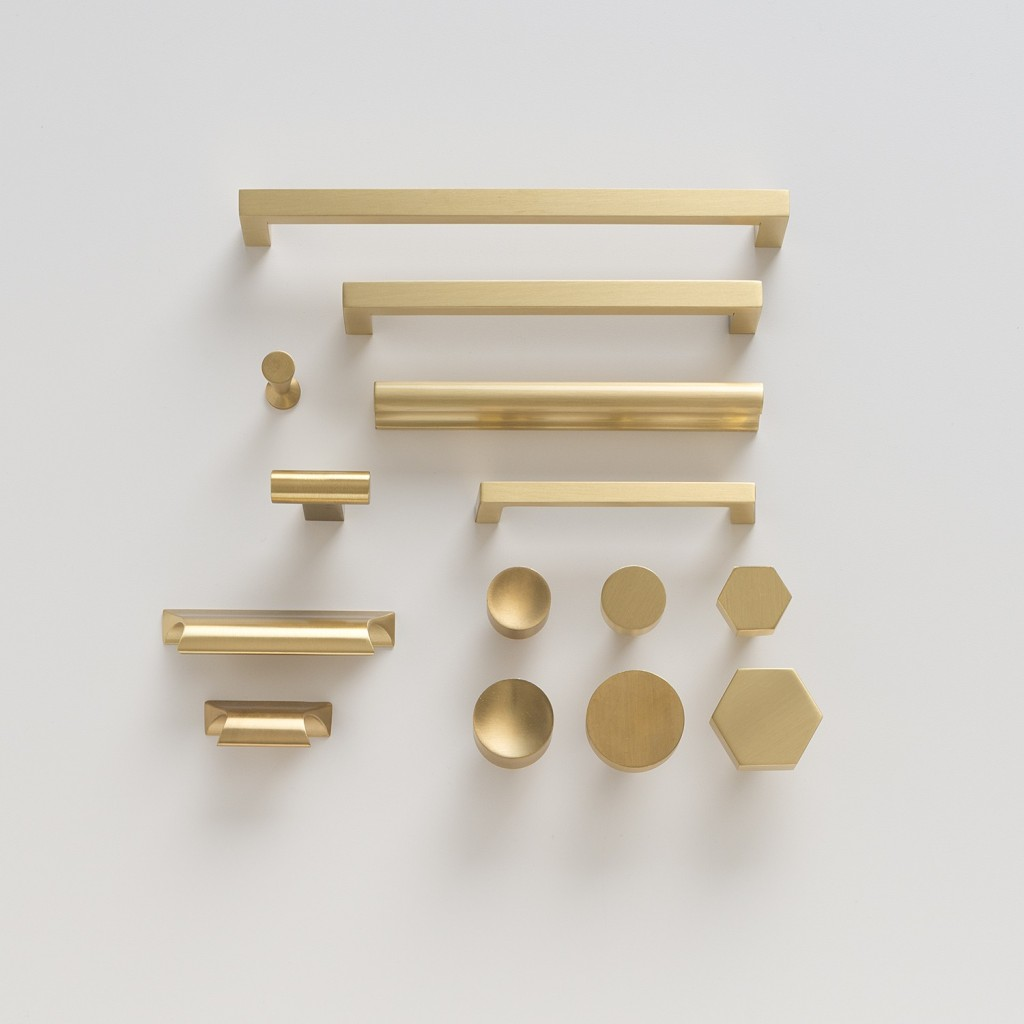 Greenwood Pull Natural Brass | Schoolhouse Electric and Supply