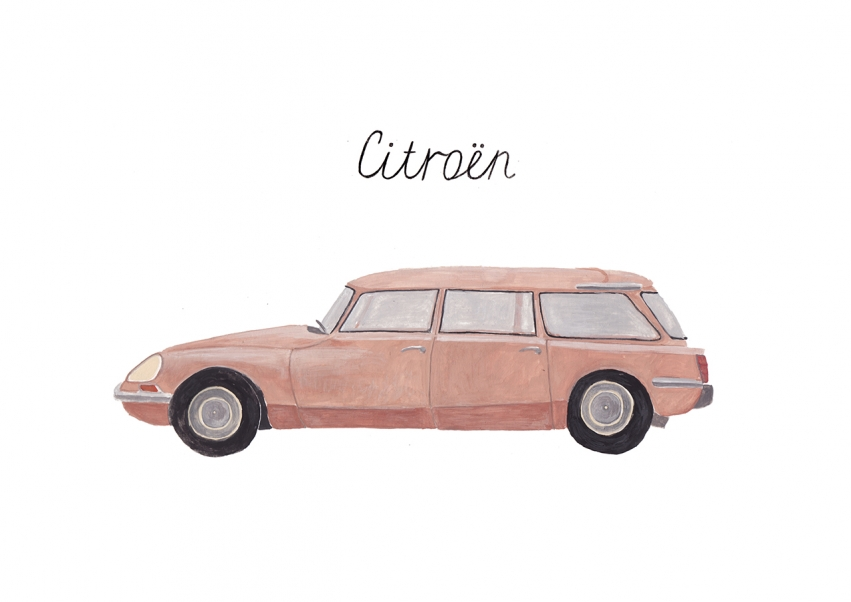 Sainte Maria | illustration | Citroen Car