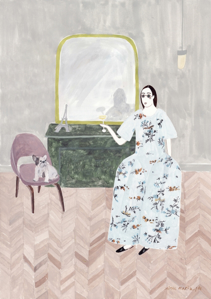 Sainte Maria | fashion illustration