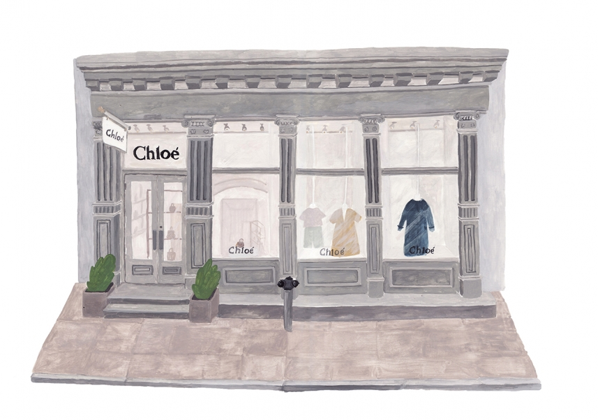 Sainte Maria | illustration | Chloé Store