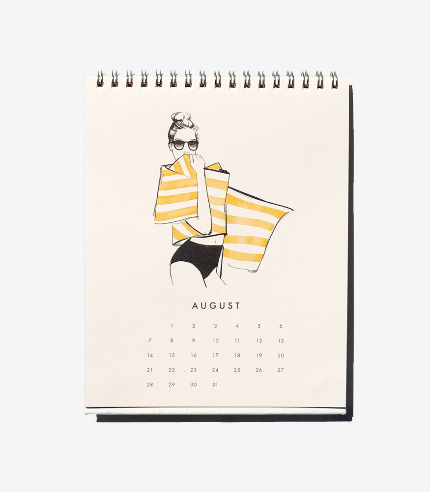 Les Femmes Wall Calendars 2016 by Garance Doré + Rifle Paper Co.