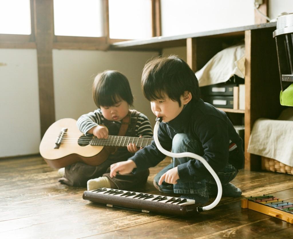 Hideaki Hamada Children Photography | Haru And Mina