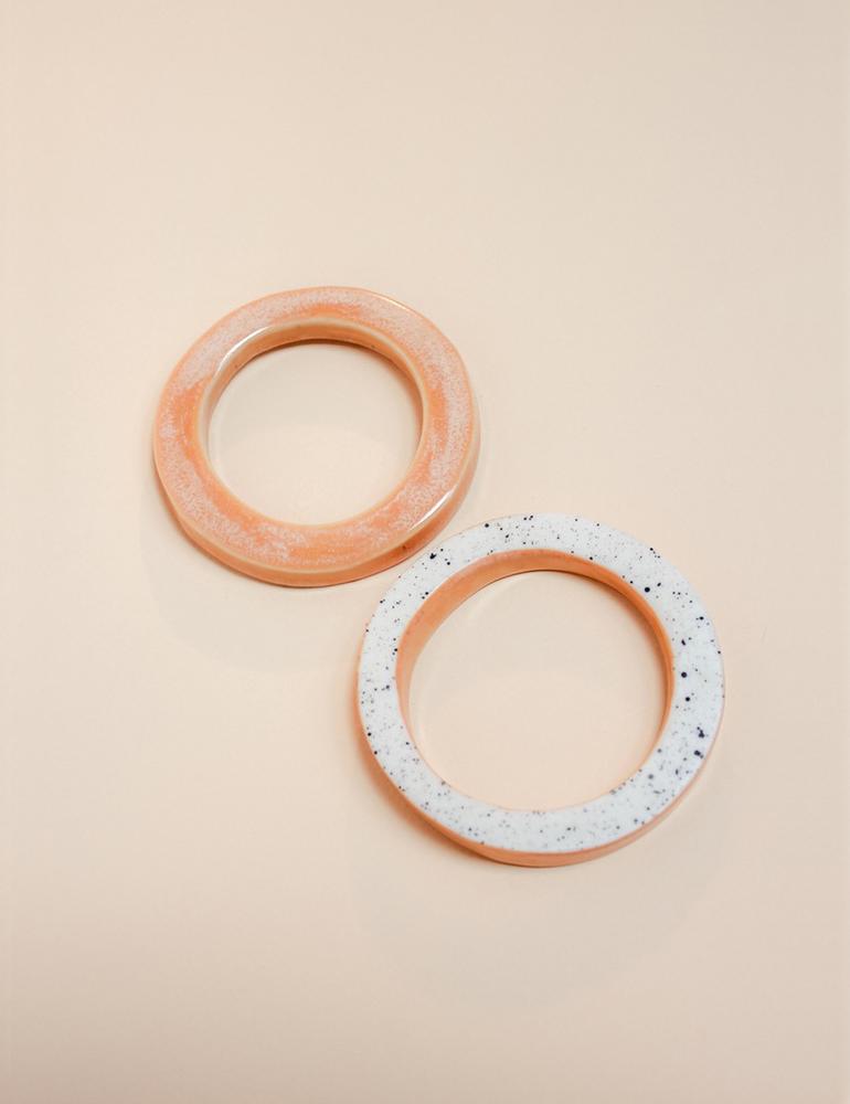 Barrow ceramic jewelry | Norte bangles