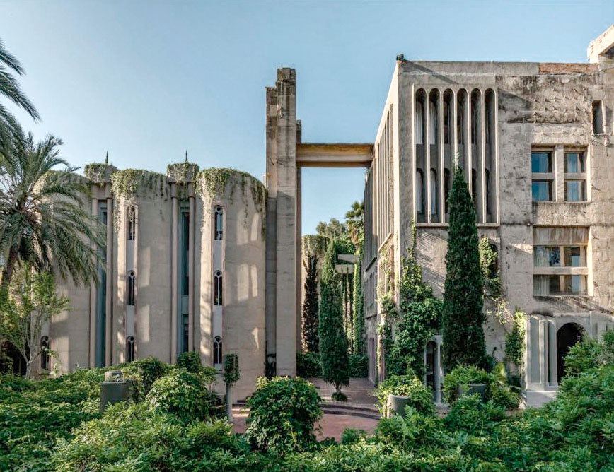 Ricardo Bofill | La Fabrica, Spain | Cathedral like transformation of a former industrial complex