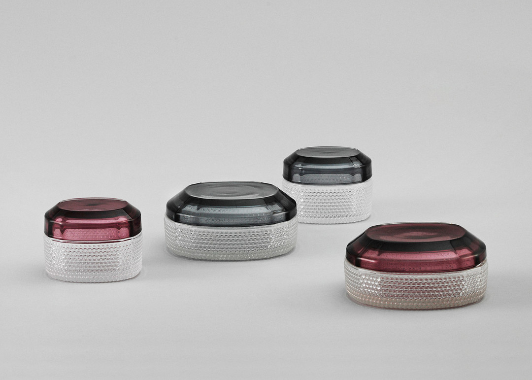 Jewelry / Brilliant Box made of glas by Normann Copenhagen