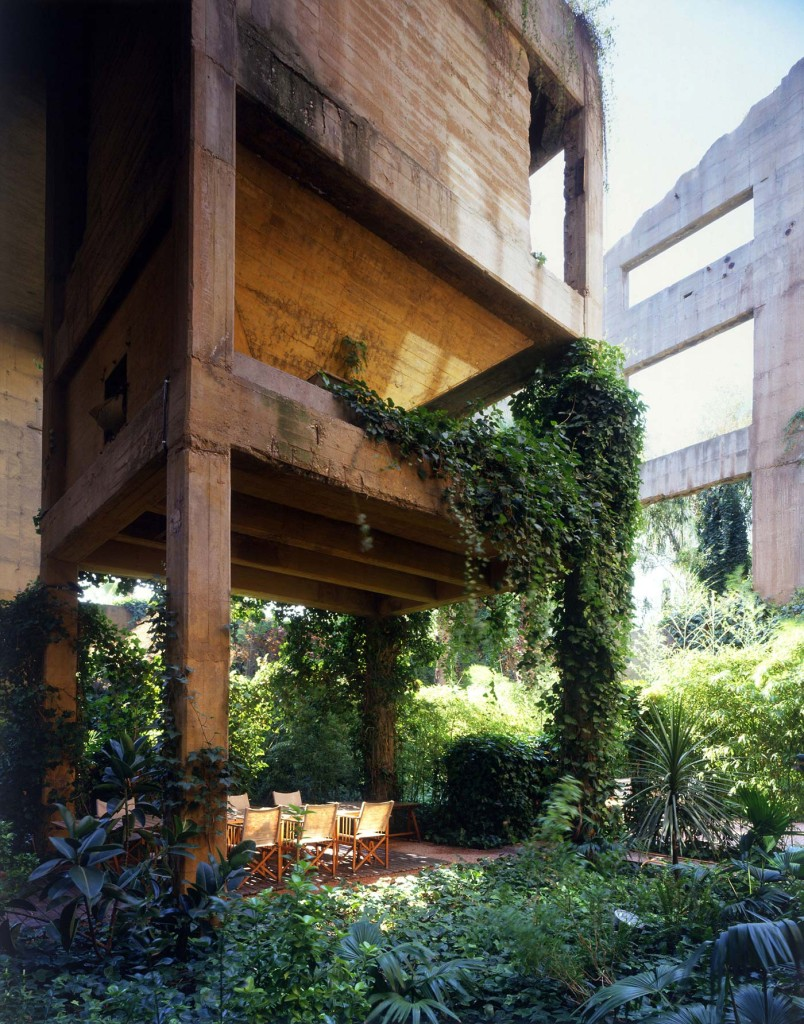 Ricardo Bofill | La Fabrica, Spain | Outer Space of a former industrial complex