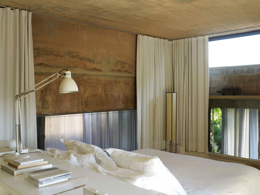 Ricardo Bofill | La Fabrica, Spain | Bedroom in a former industrial complex