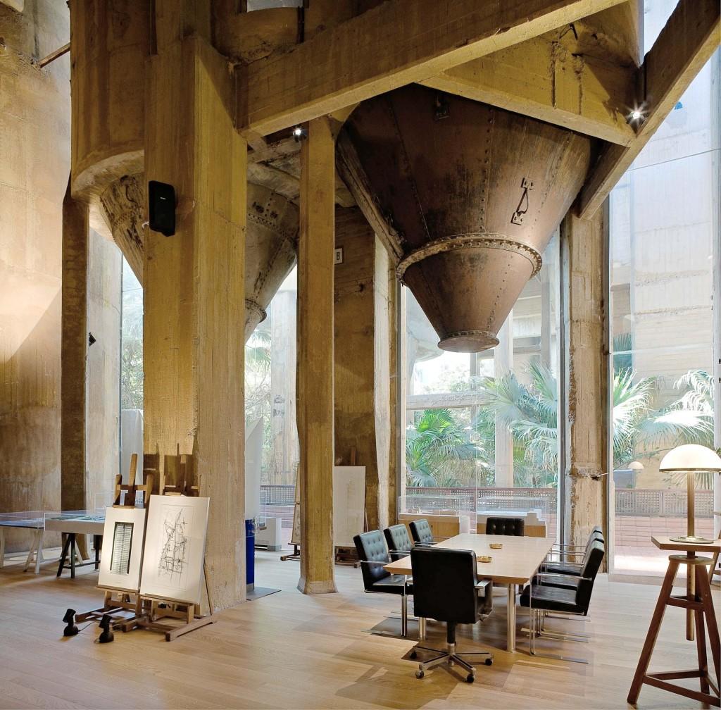 Ricardo Bofill | La Fabrica, Spain | Work Space in a former industrial complex