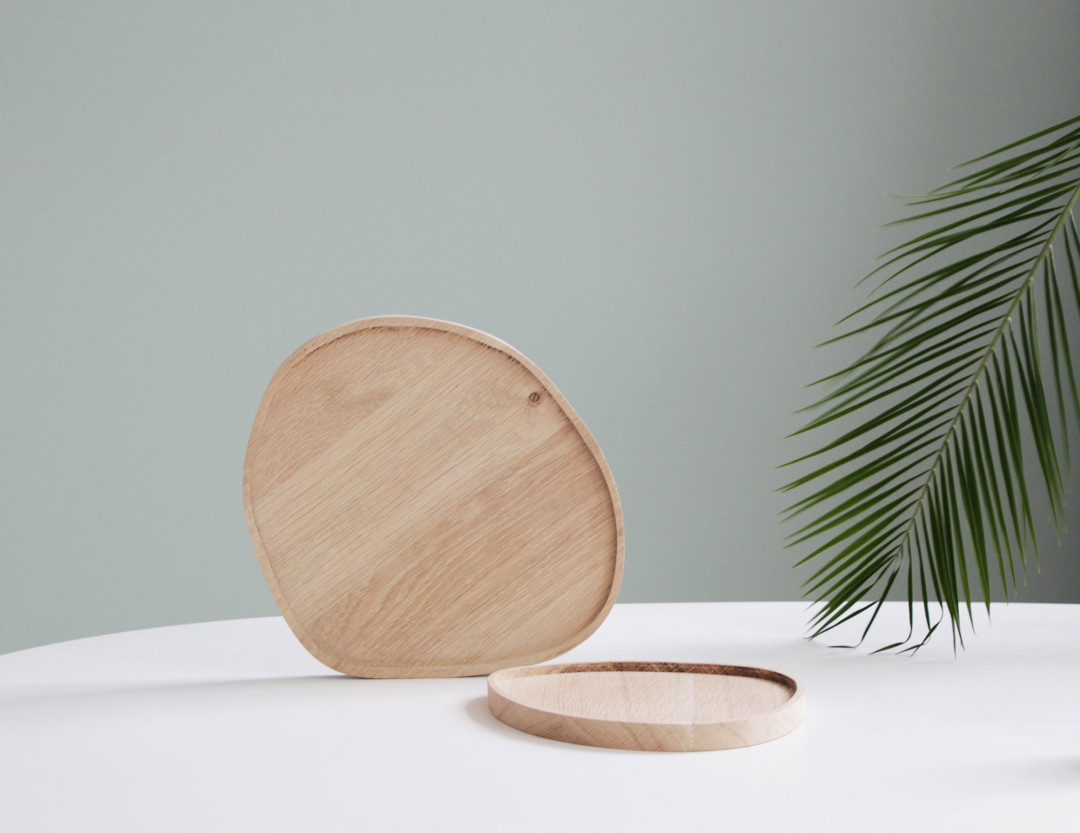 Caroline Gomez | Wood cutting board plateaux