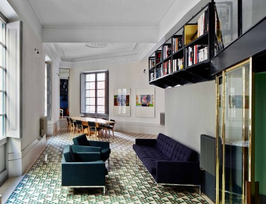 Carrer Avinyo in Barcelona by David Kohn Architects #floortiles