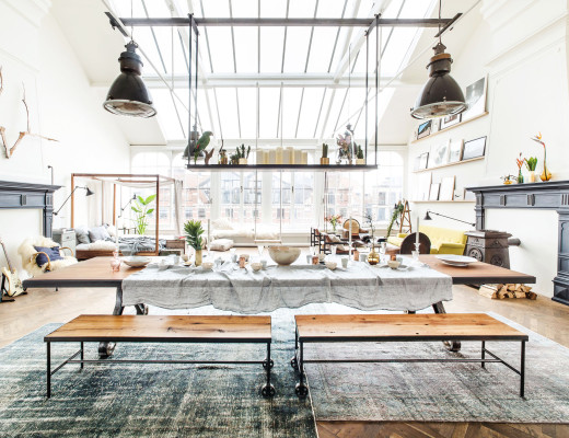 Conceptual pop-up store The Loft in Amsterdam