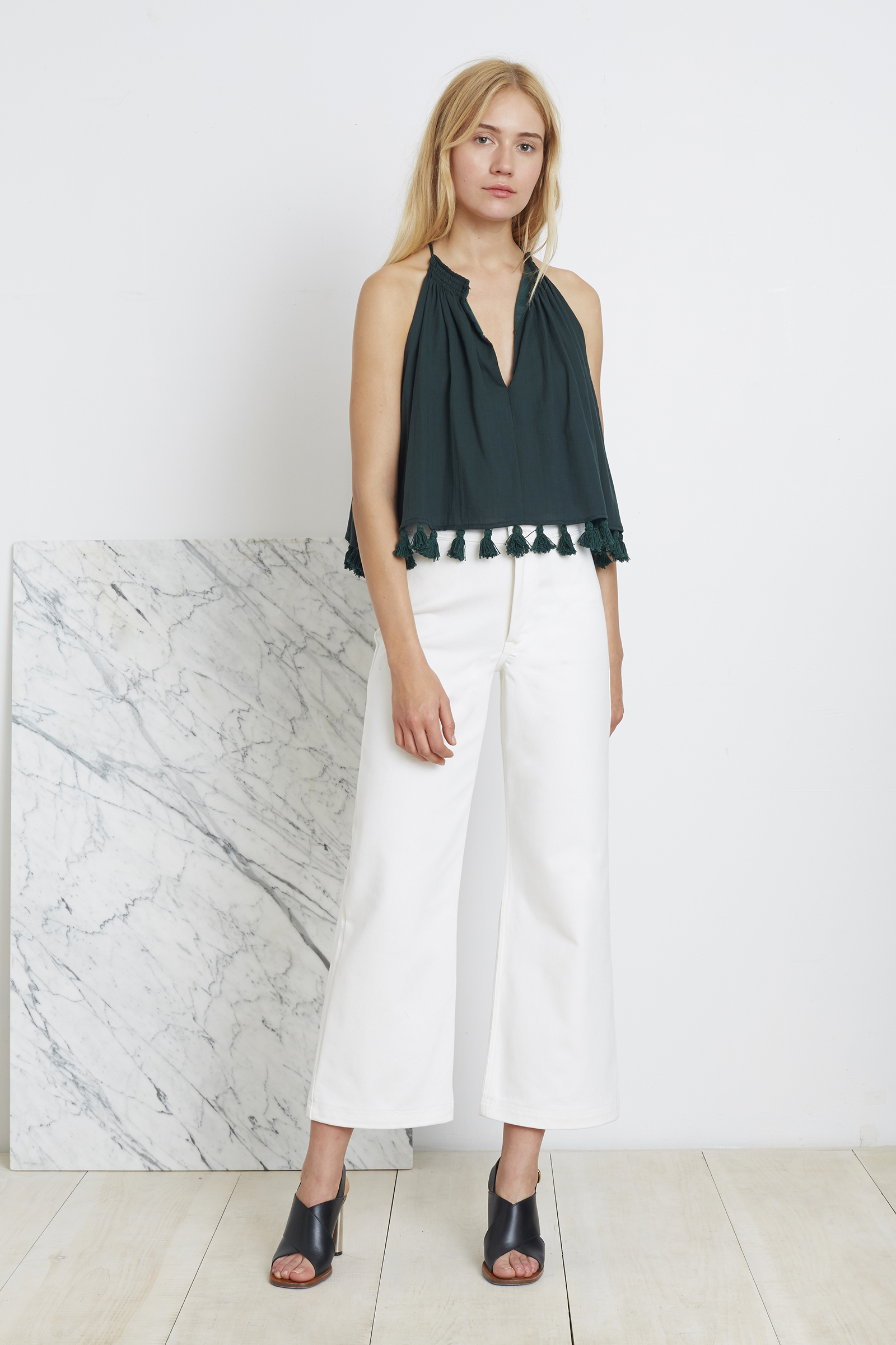 Apiece Apart | top with tassels