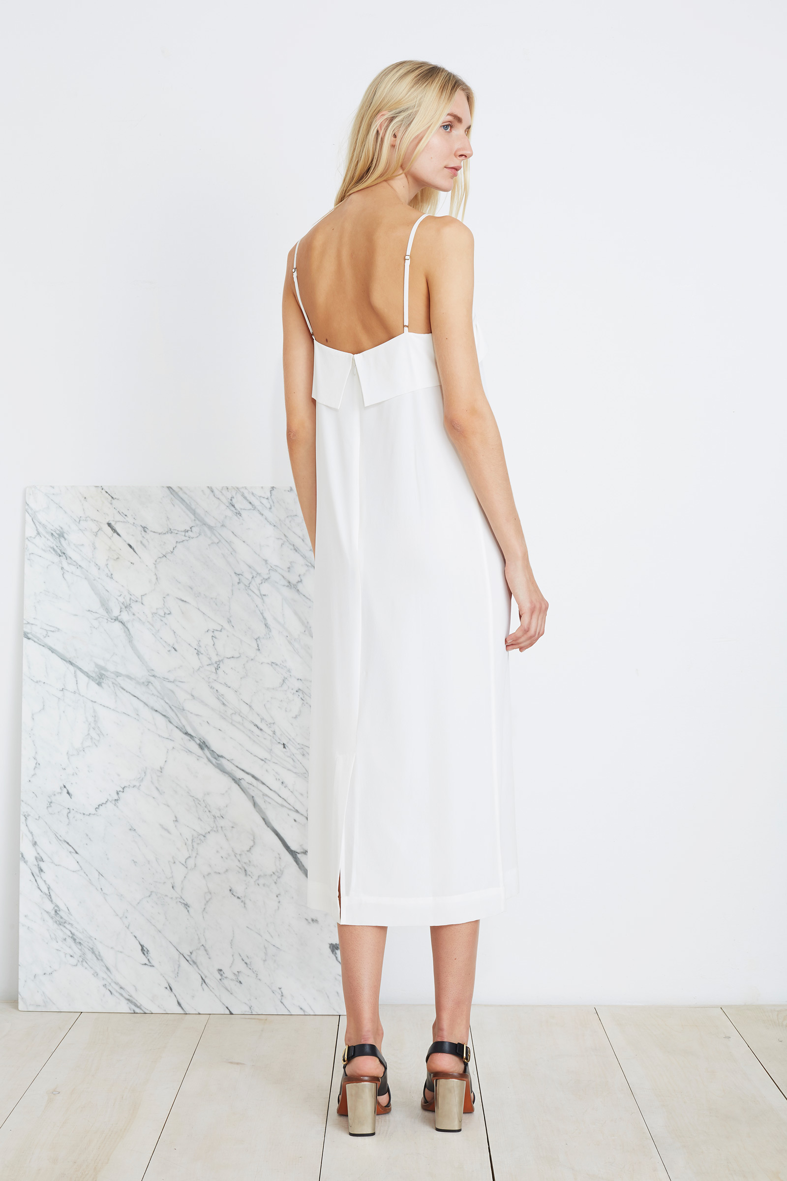 Apiece Apart | white simple summer dress