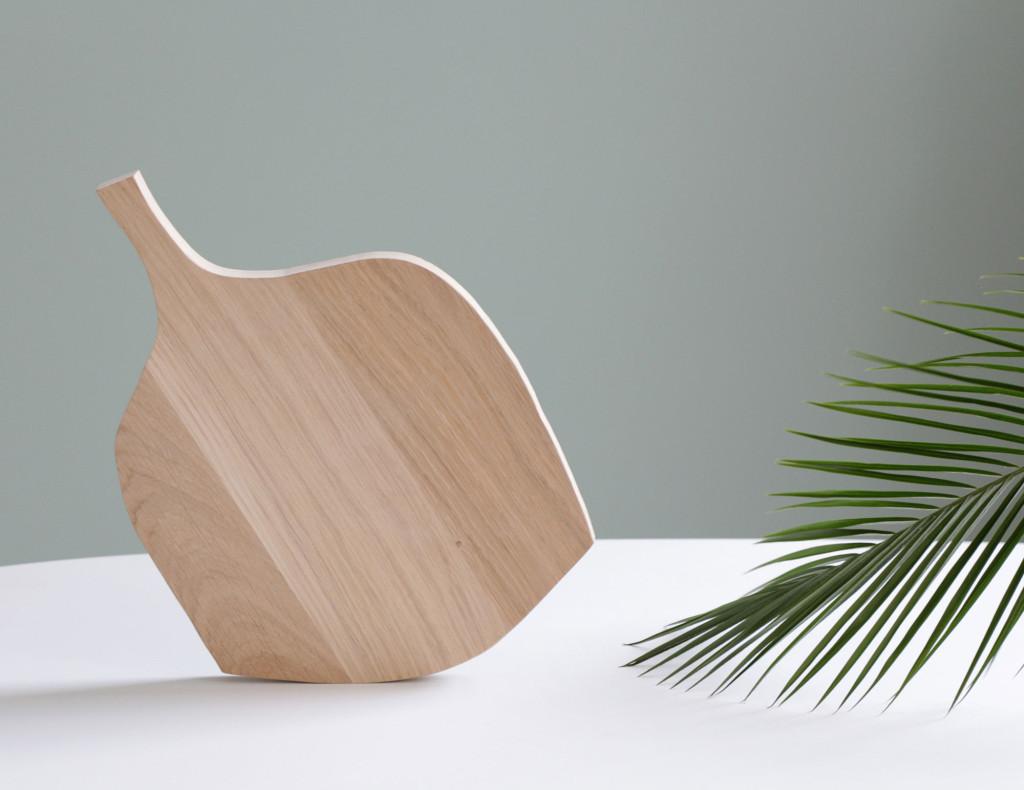 Caroline Gomez   Wood cutting board