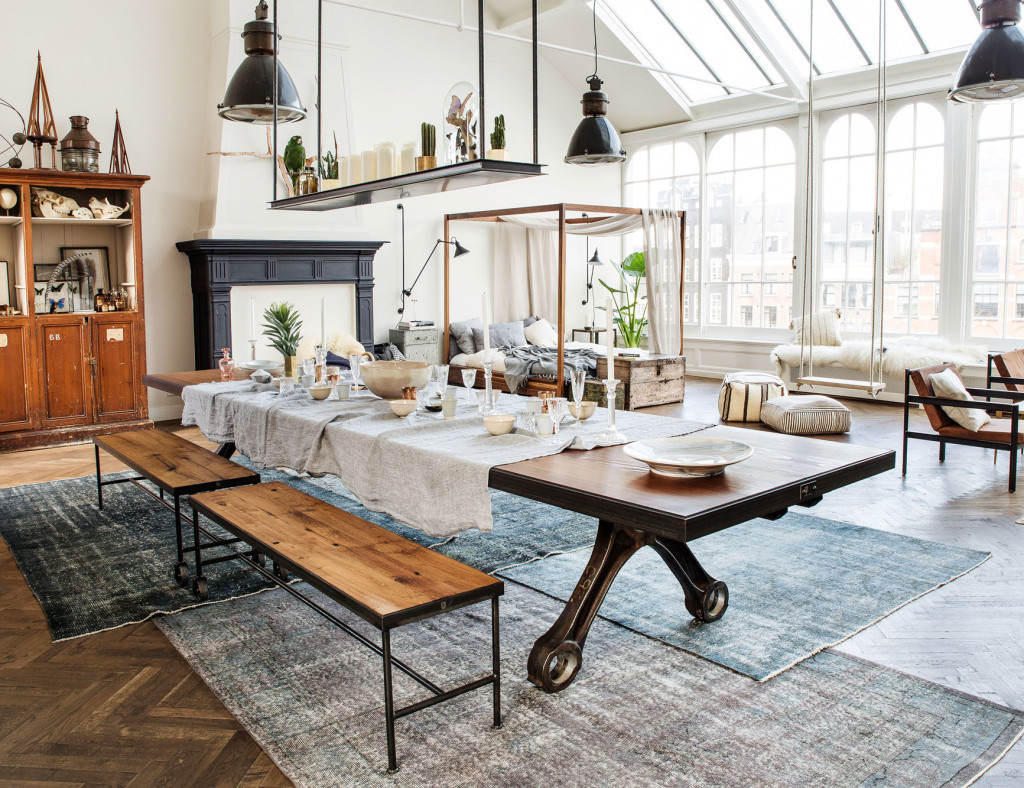 Conceptual pop up store The Loft in Amsterdam