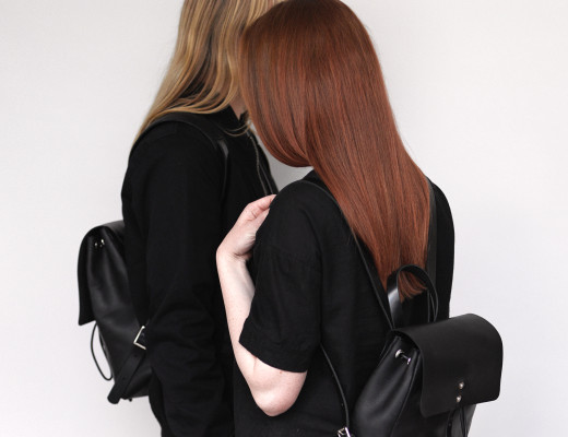 Minimalistic British backpacks by Alfie Douglas