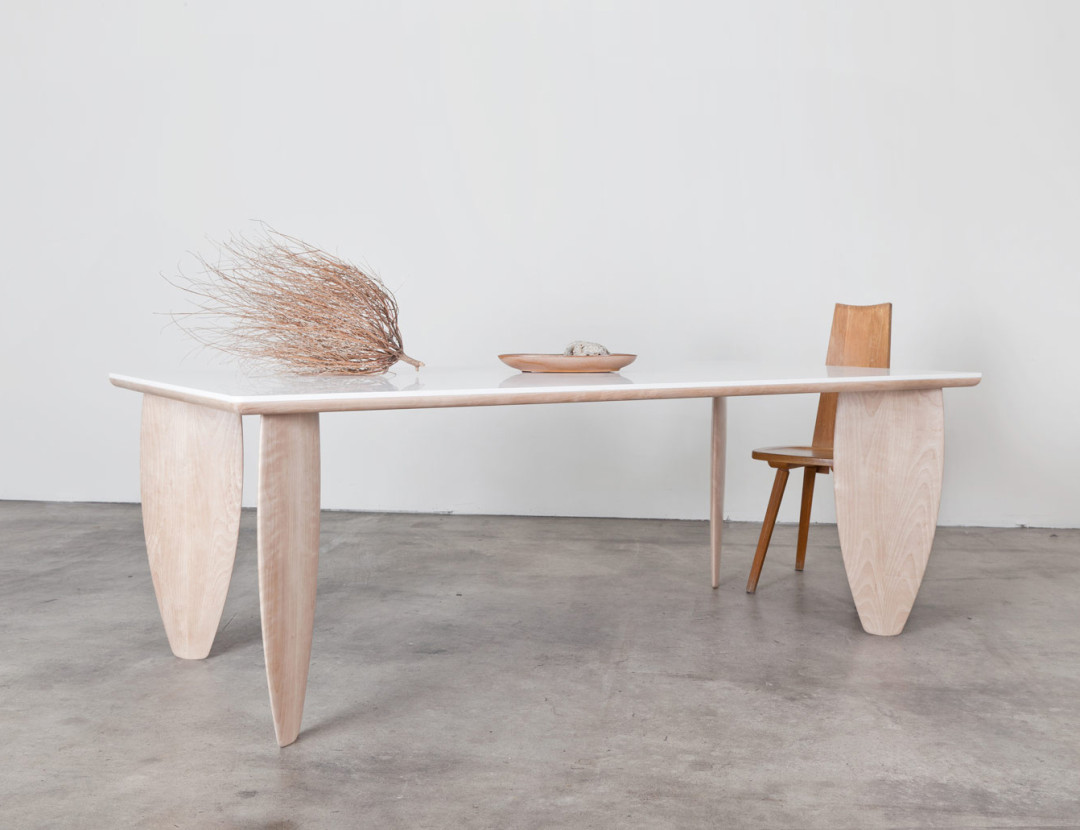 Surfboard Table by Brook&Lyn | Made in LA