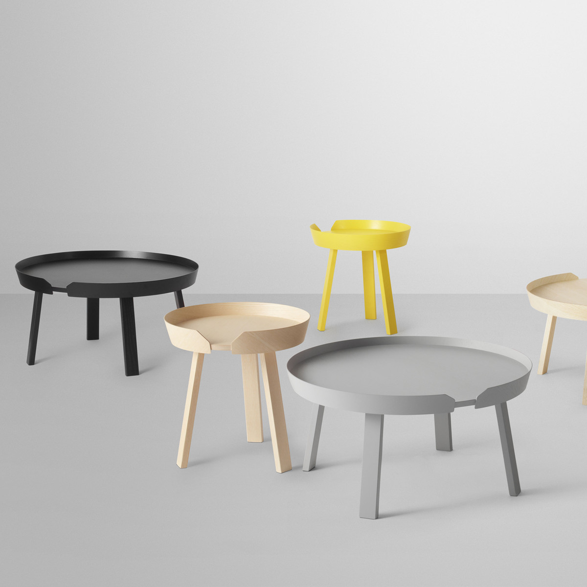 Muuto | around side table made of wood