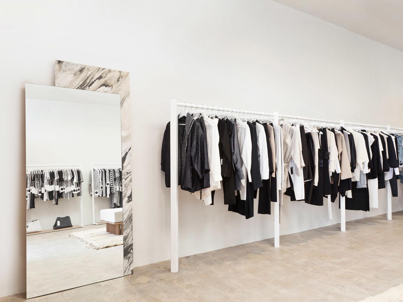 Bassike Store Interior Design | Venice, CA