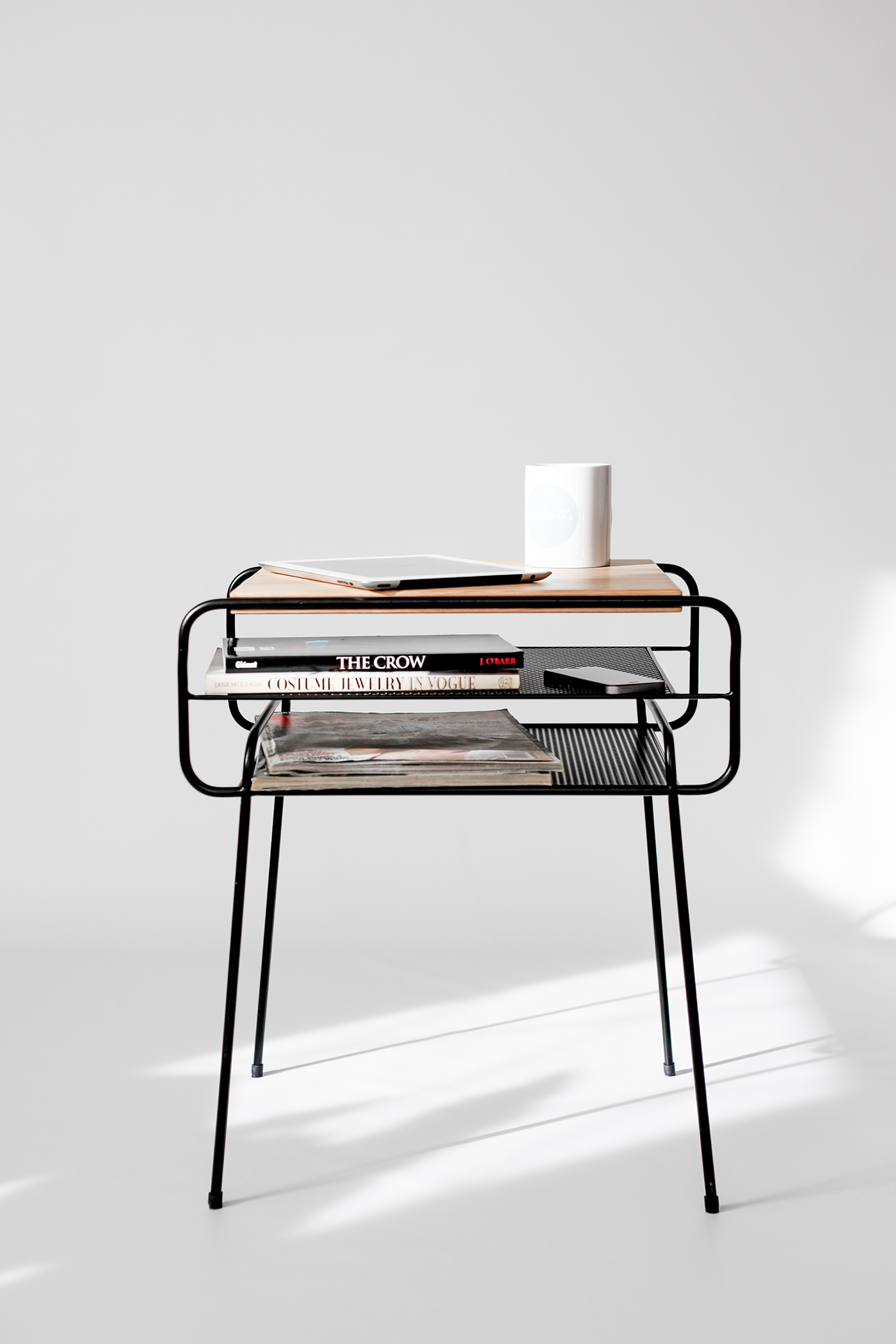 Manuel Berrera | Double nightstand made of iron