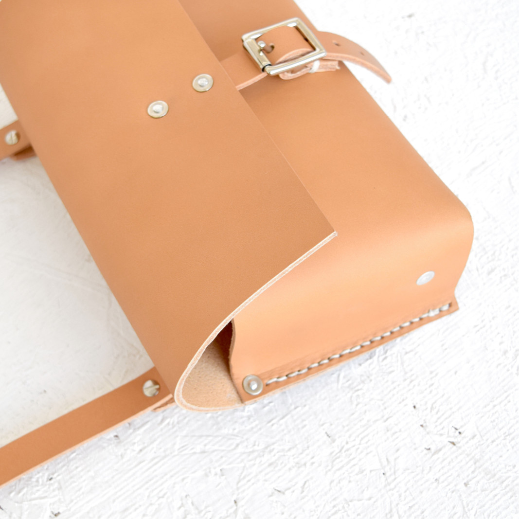 British leather goods by Alfie Douglas | saddle bag