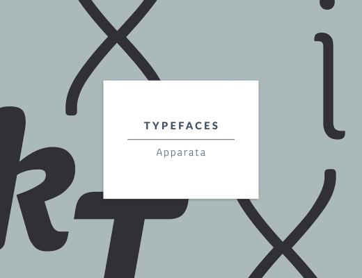 Apparata Typeface by Xavier Lanau