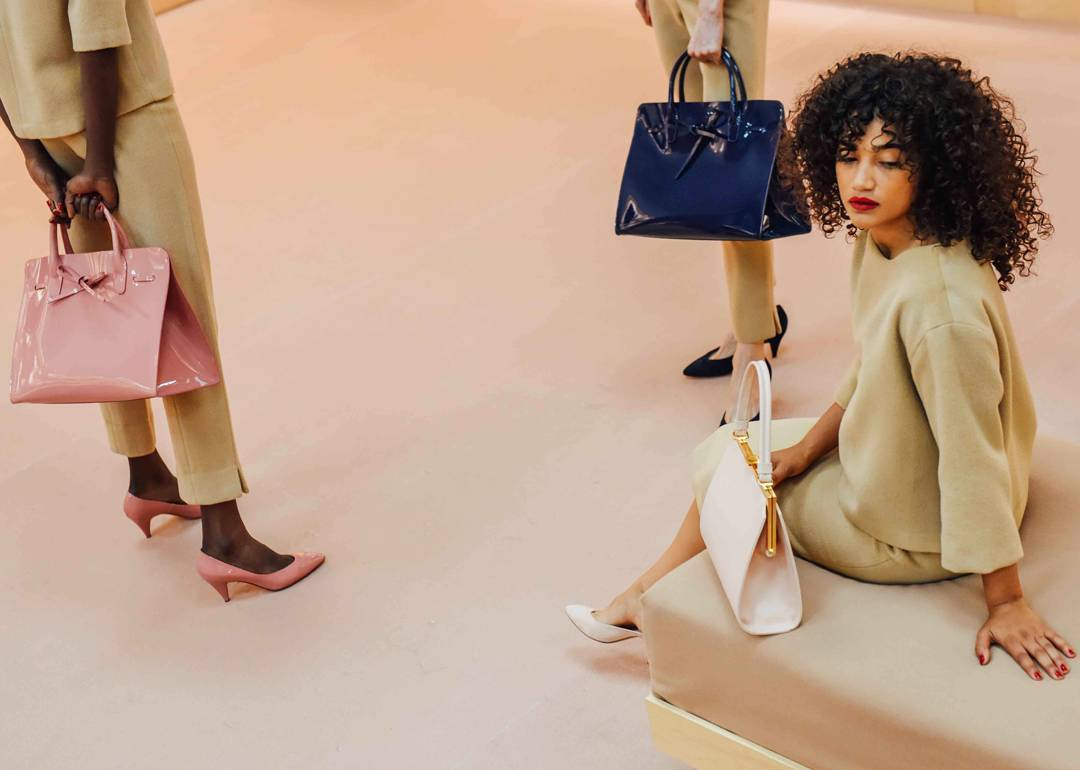 Mansur Gavriel | Shoes and bags in pop colors