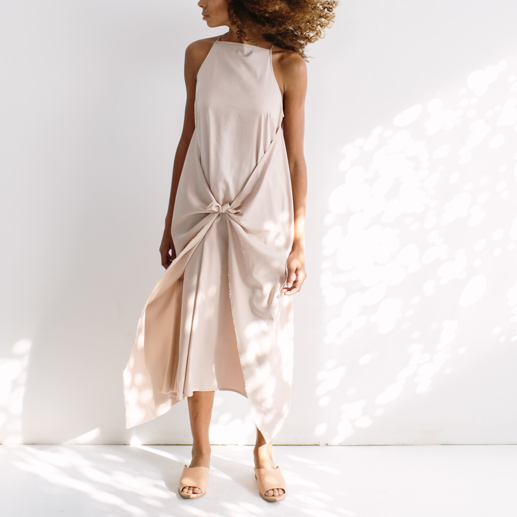 Knotted dress by HDH