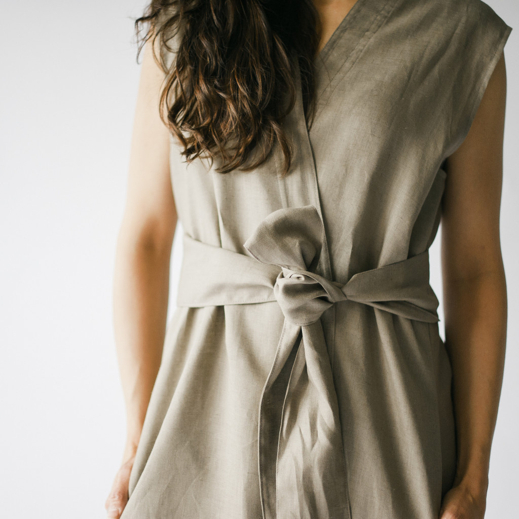Belted summer dress by HDH