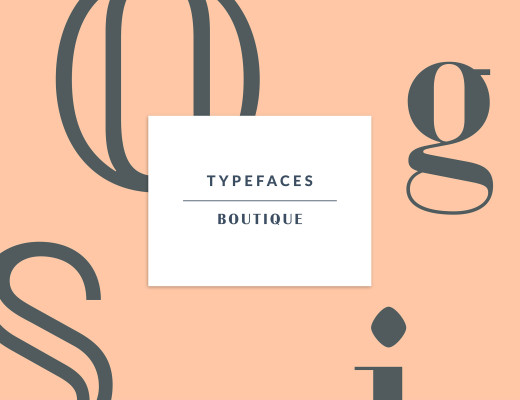Boutique – Typeface by MilieuGrotesque