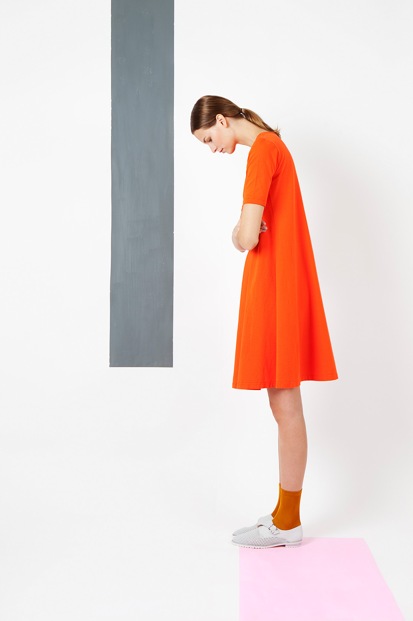 Arela | a lined dress in cotton jersey