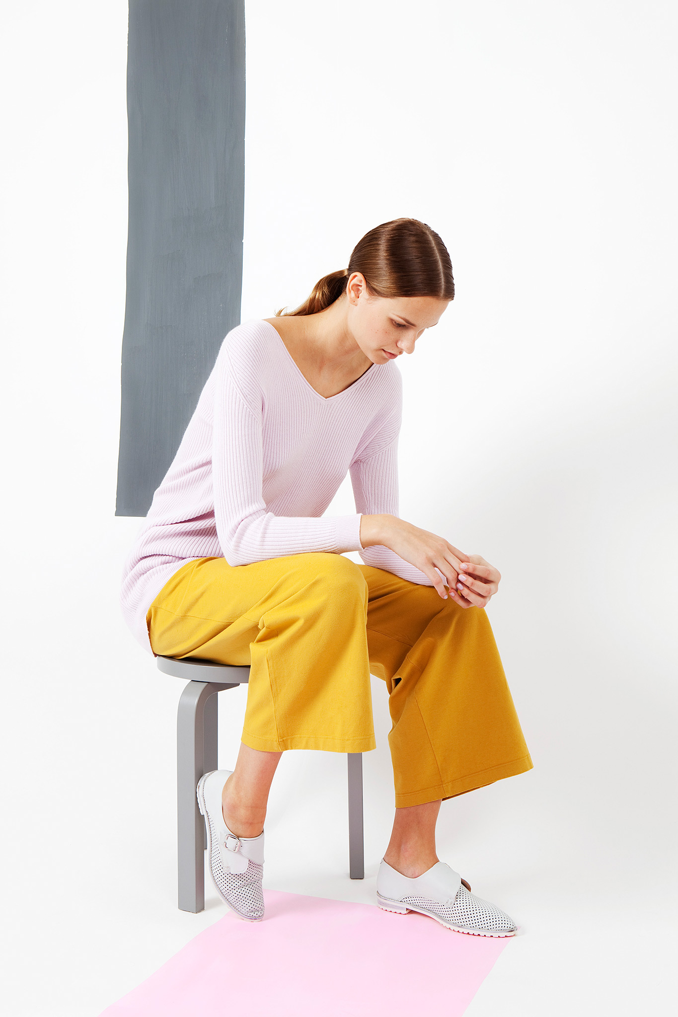 Arela | sweater in cashmere cotton knit