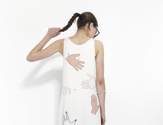 Printed summer dress by Mr. Larkin | Copenhagen based clothing label